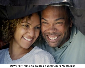 MONSTER TRACKS created a jazzy score for Horizon