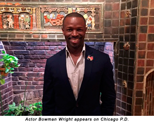 Actor Bowman Wright appears on Chicago P.D.